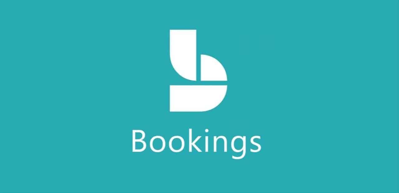 Logotipo Microsoft Bookings